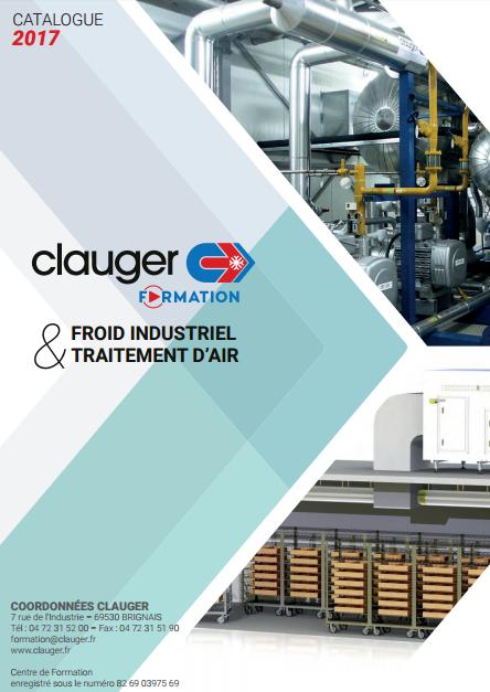 Catalogue 2017 de formations Clauger en froid industriel et traitement d'air