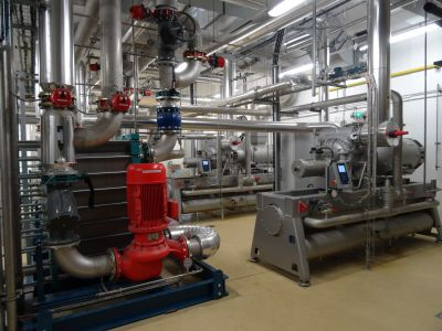 Cooling and/or heating systems
