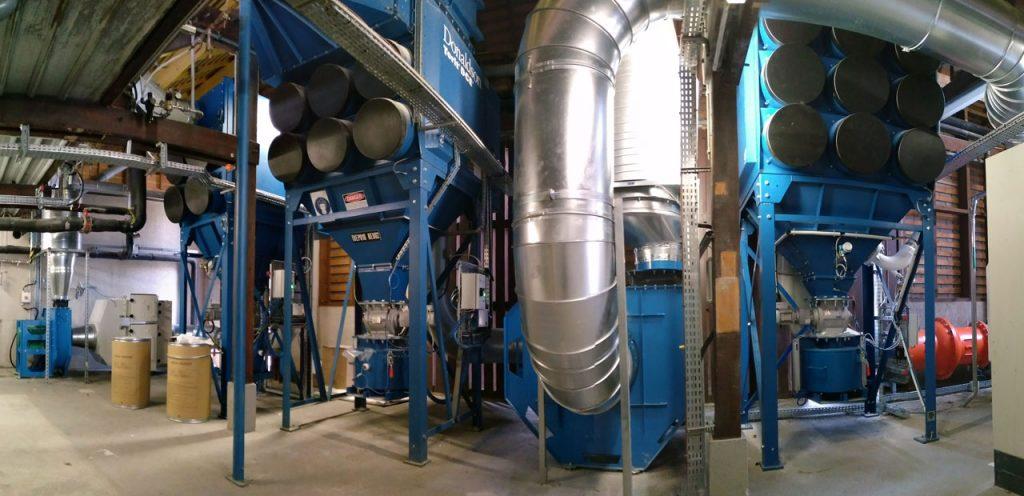 Spécialiste du dépoussiérage et de la ventilation industriels