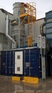 Installation de nettoyage centralisé par le vide