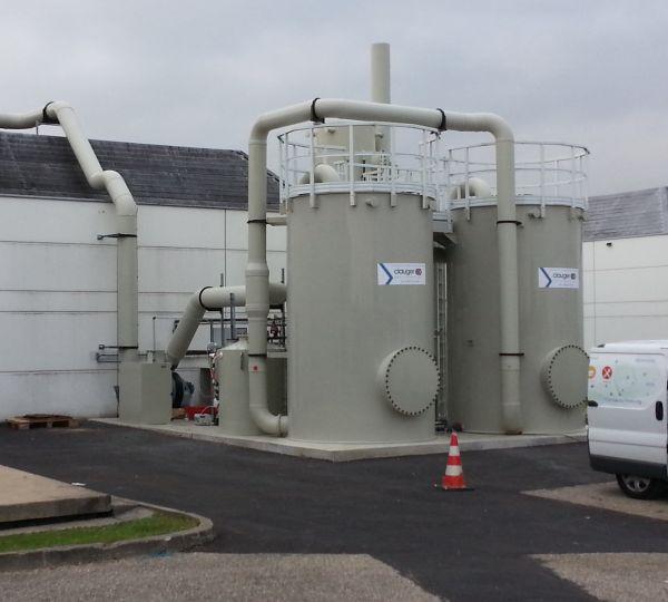 Technologie de biofiltration utilisant des biopercolateurs Clauger
