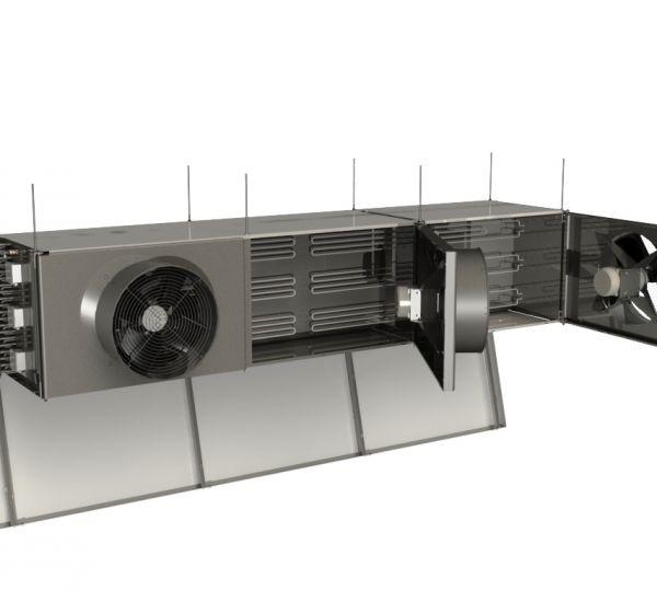 Conditionneur d'air inox - Gamme Access H Clauger - pour le traitement d'air en agroalimentaire
