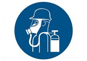 Formation au port de l'appareil respiratoire Isolant ARI - installation CO2 et Nh3