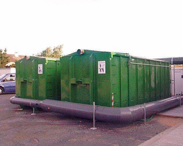 Biofiltre pour l'élimination de composés odorants dans l'assainissement (station d'épuration, plateforme de gestion des déchets)
