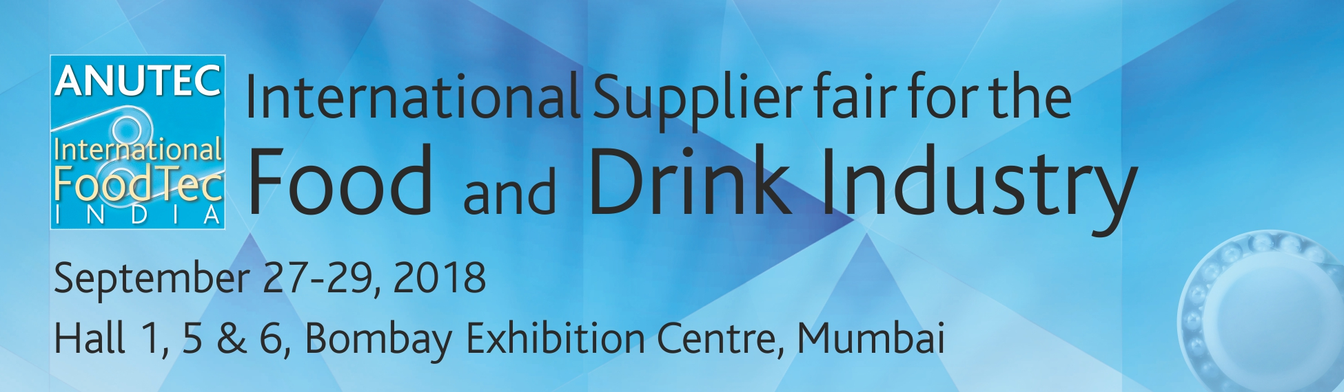 International Supplier fair for the food and drink industry
