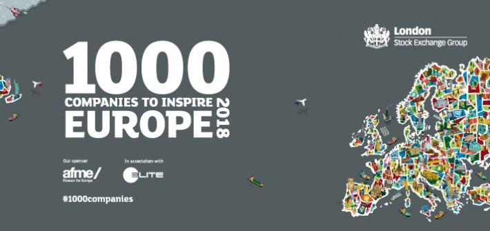 Clauger fait partie des « 1 000 entreprises qui inspirent l'Europe »