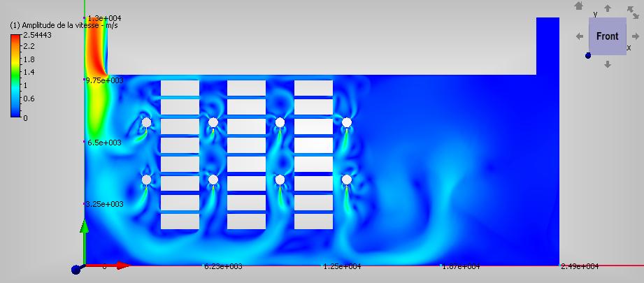 Simulation aéraulique des flux d'air grâce à Design'Air de Clauger