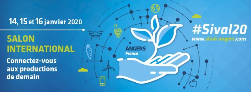 Clauger vous donne rendez-vous au SIVAL 2020 d'Angers Stand D173 dans le Hall B !