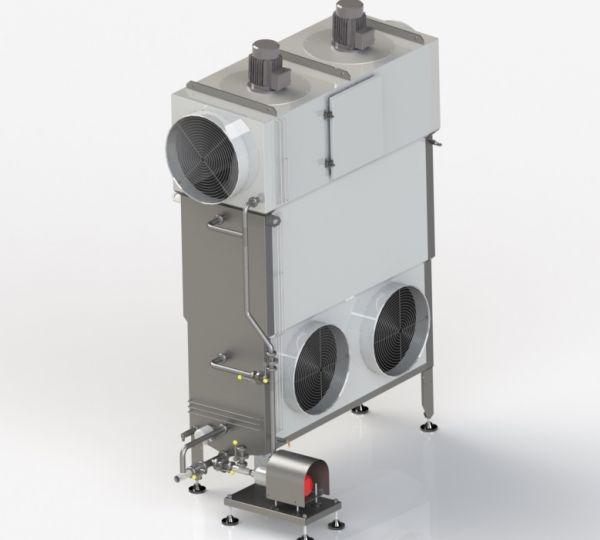 Conditionneur d'air inox - Gamme Thygre Clauger - pour le traitement d'air en agroalimentaire