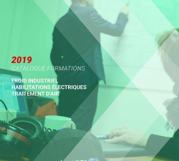 Catalogue Clauger formation 2019 froid industriel & traitement d'air