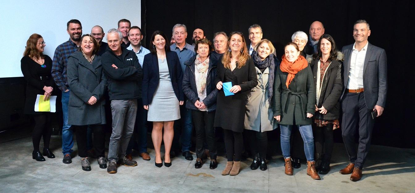 Les équipes AMF & Clauger de Nantes et Lyon