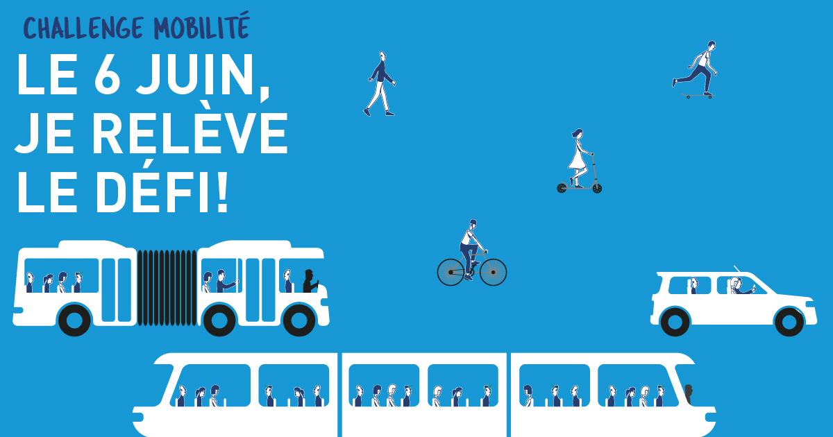 Clauger relève le défi et s'engage dans le challenge Mobilité organisé par la Région Auvergne- Rhône-Alpes le 6 juin 2019